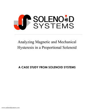 magentic hysteresis in a solenoid